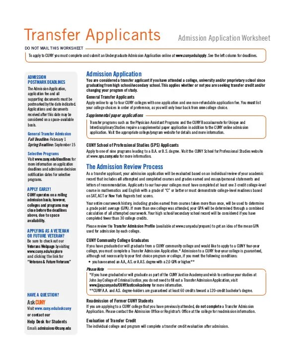 6 Application Templates For Transfer Of School