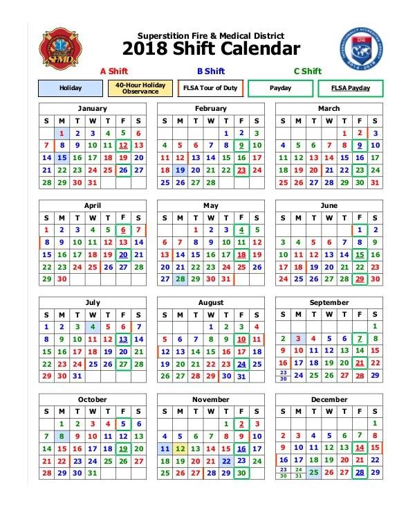 3 Shift Calendar Templates Pdf Free Premium Templates