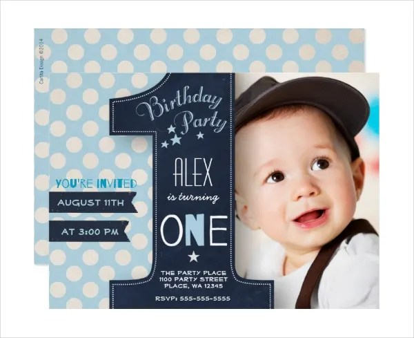 8 Boys Party Invitation Designs Templates Psd Ai