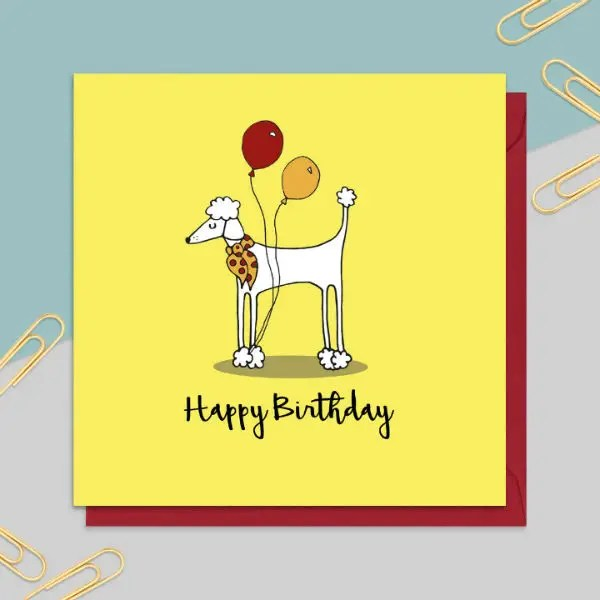 6 Dog Birthday Card Templates Designs Psd Ai Free Premium Templates
