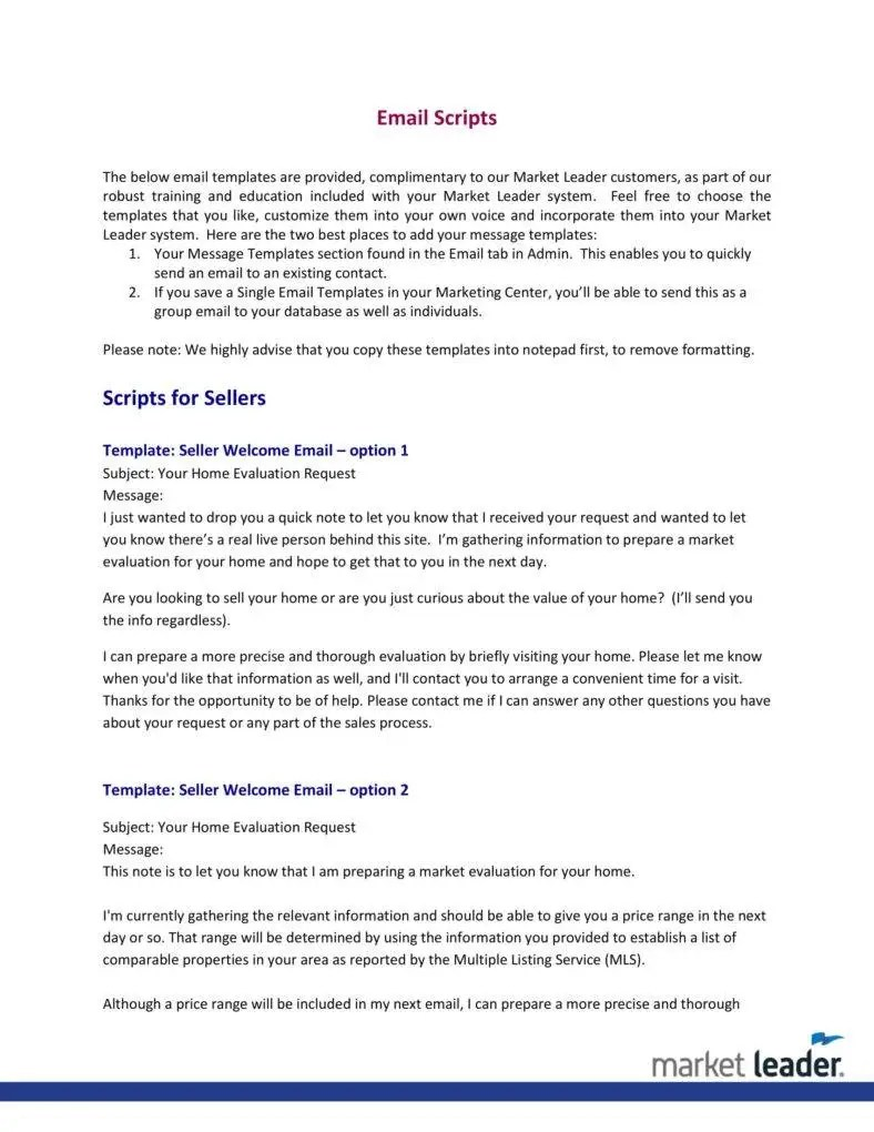 4 Real Estate Follow Up Letter Templates PDF Free Amp Premium Templates