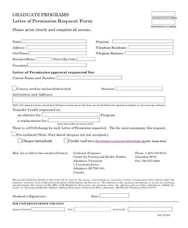 13 Permission Request Letter Pdf Free Premium Templates
