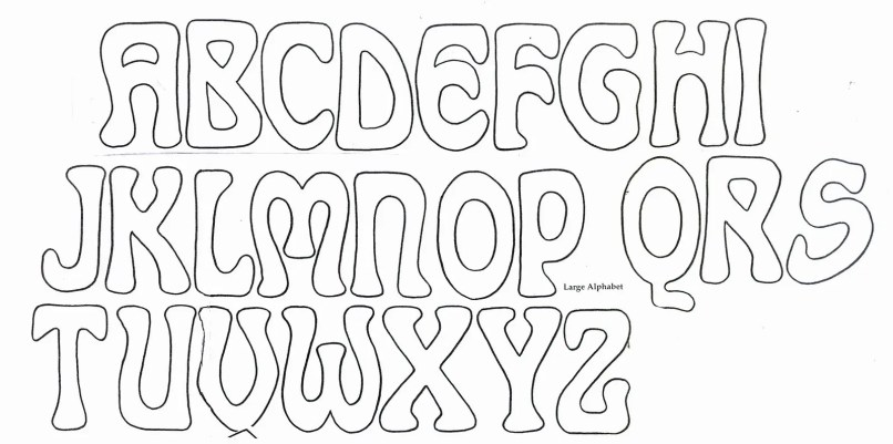 Alphabet Letter Outline Template from i2.wp.com