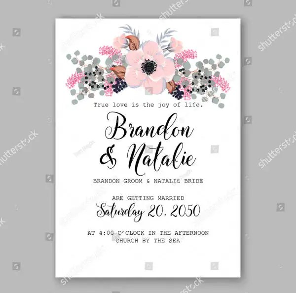 Rustic Wedding Invitations Images