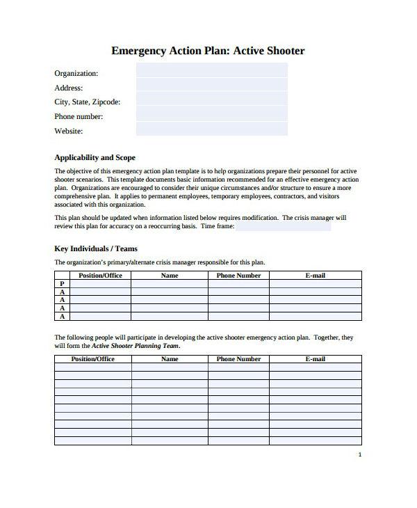 8 Emergency Care Plan Templates PDF DOC Free Premium Templates