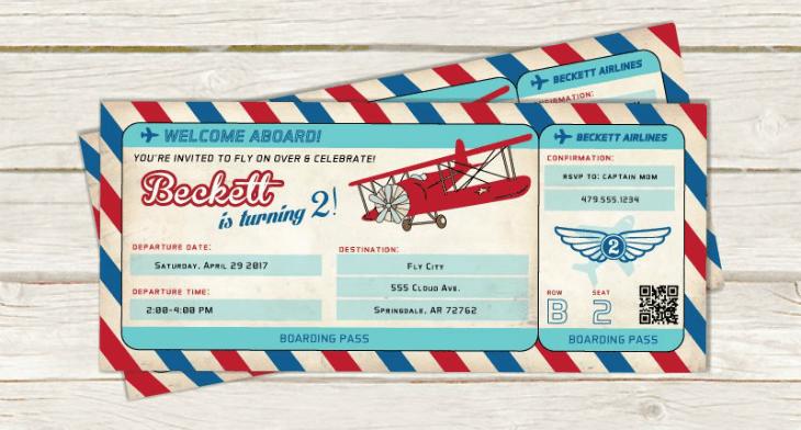 21 birthday invitation ticket designs