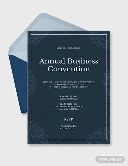 18 business event invitations psd