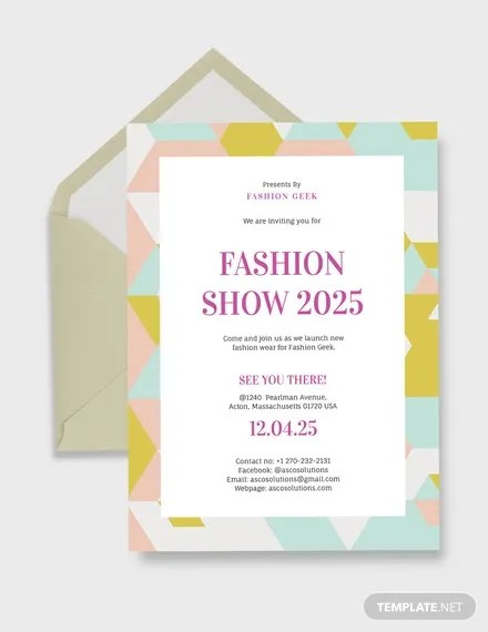 78 Invitation Card Examples Word