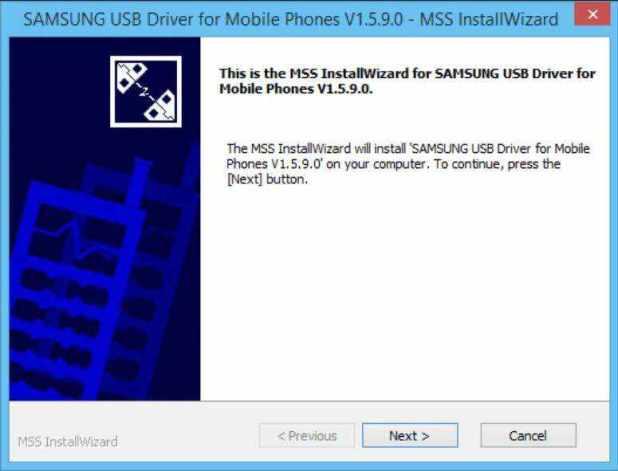 installer le pilote USB Samsung sur Windows pour téléphone mobile rooter le Galaxy S7 et S7 Edge