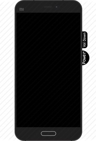 tombol mode fastboot Xiaomi