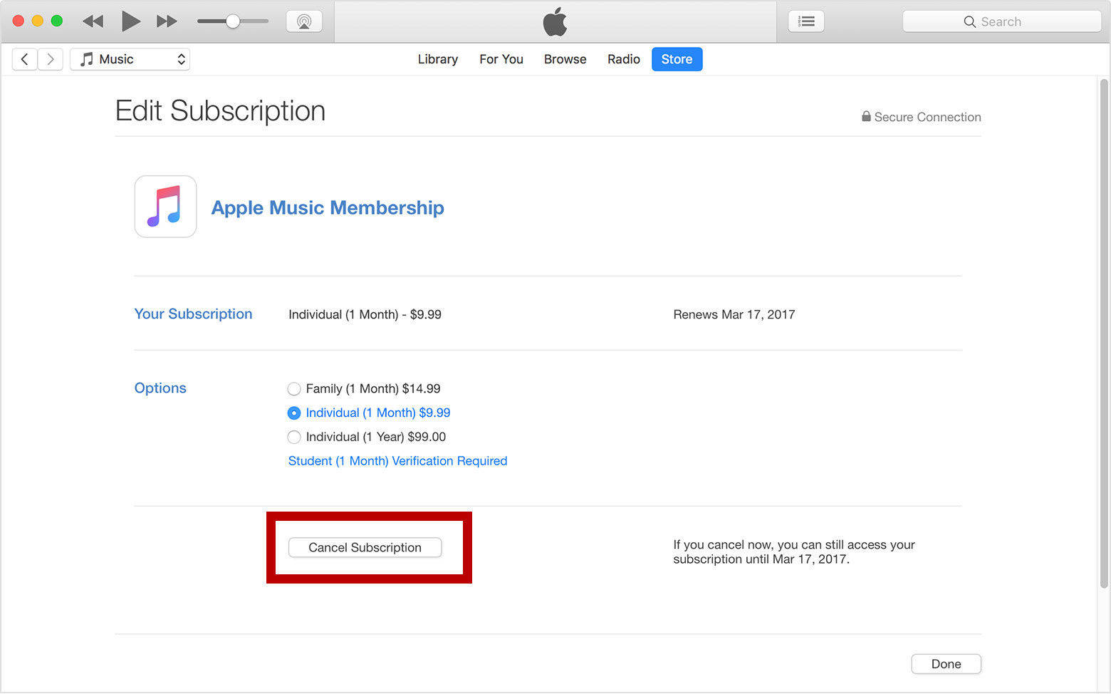How To Unsubscribe From Itunes Match