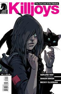 True Lives of the Fabulous Killjoys #1 (Becky Cloonan cover)