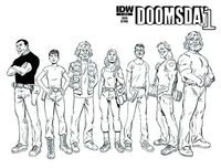 Doomsday.1 #1 (of 4) Subscription Variant