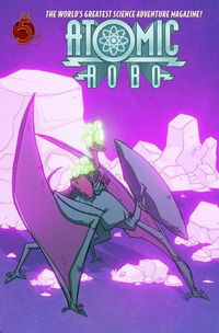 Atomic Robo Savage Sword Of Dr Dinosaur #2 (of 5)