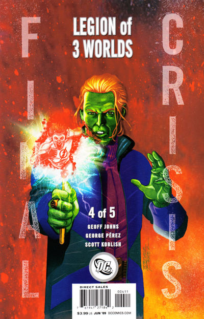 Final Crisis Legion Of Three Worlds #4 (of 5) (Cover B)