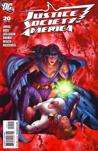 Justice Society Of America #20 (Eaglesham Variant Edition)