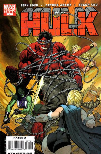 Hulk #7 (Cover B - Frank Cho Variant)