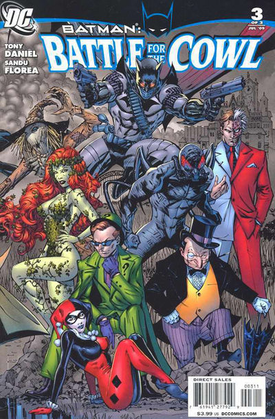 Batman: Battle for the Cowl #3 (of 3)
