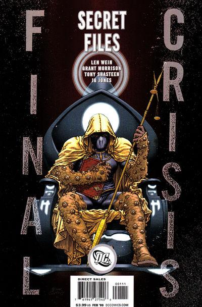 Final Crisis Secret Files #1 (Cover B)