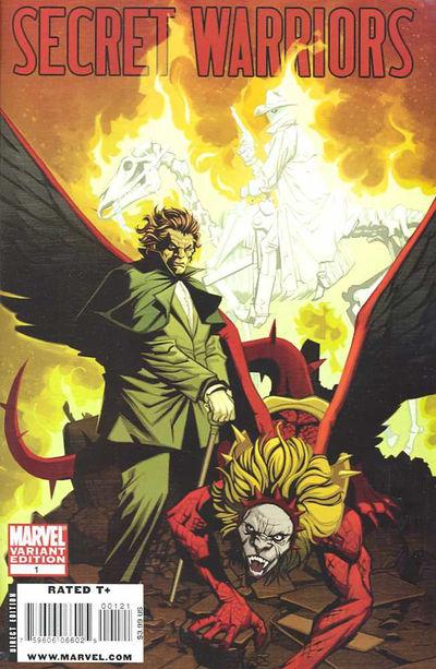 Secret Warriors #1 (Variant Cover Edition)