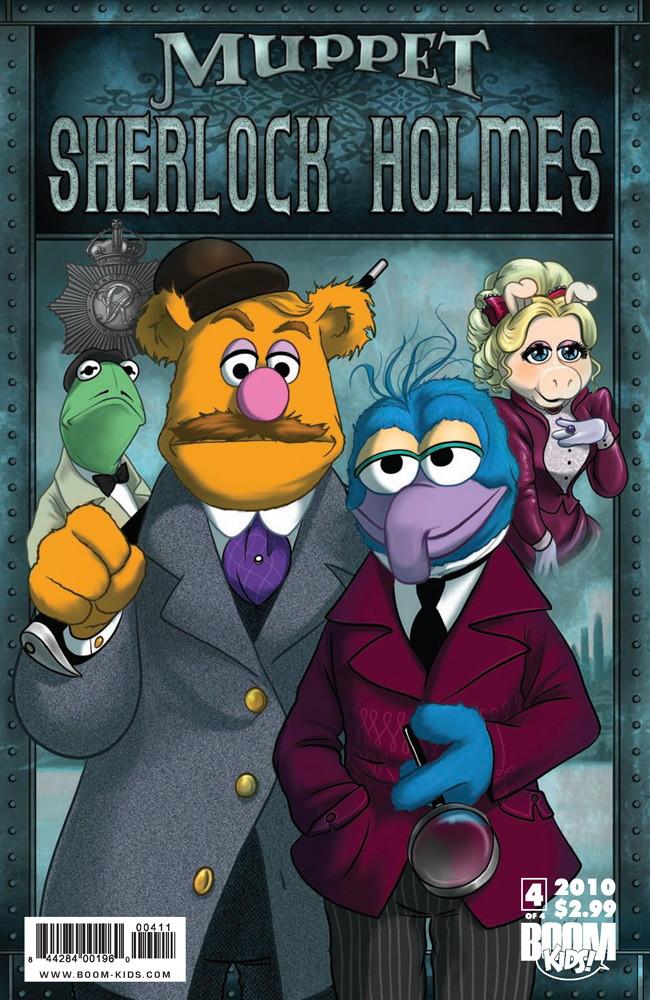 MuppetSherlock4p1 TFAW Interviews: The Muppets' Amy Mebberson
