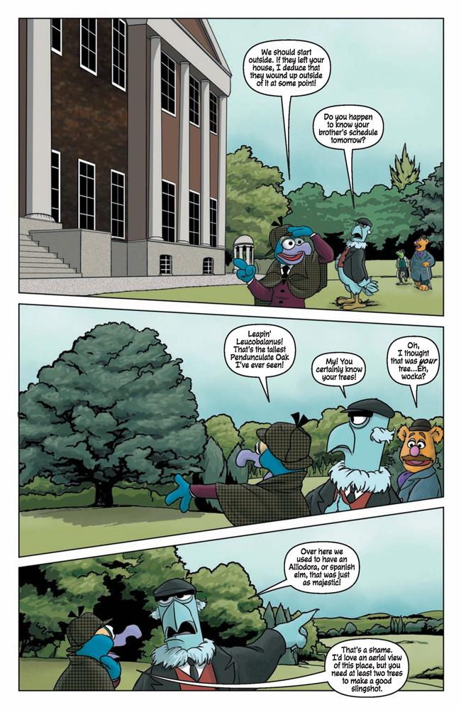 MuppetSherlock4p6 TFAW Interviews: The Muppets' Amy Mebberson