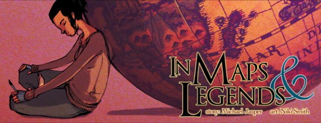 maps5thumb TFAW Interviews: IN MAPS AND LEGENDS' Mike Jasper and Niki Smith