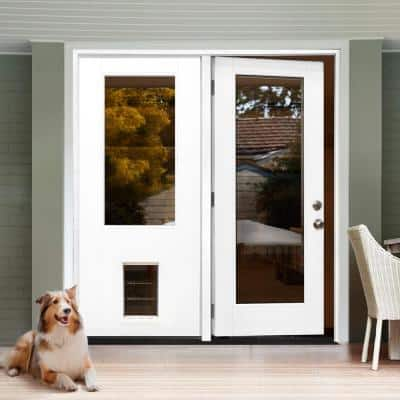 2 options available steves sons fiberglass doors with glass 64 400