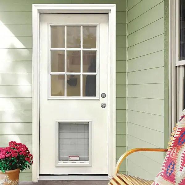 white primed steves sons fiberglass doors with glass twfg 3279 nlsl slb e1 600