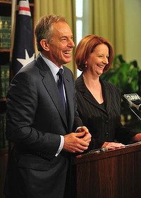 tony blair julia gillard