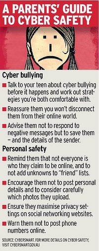 Cyber safety tips.