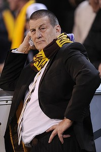 Hawthorn president Jeff Kennett after the Hawk's loss to Collingwood in Friday night's preliminary final.