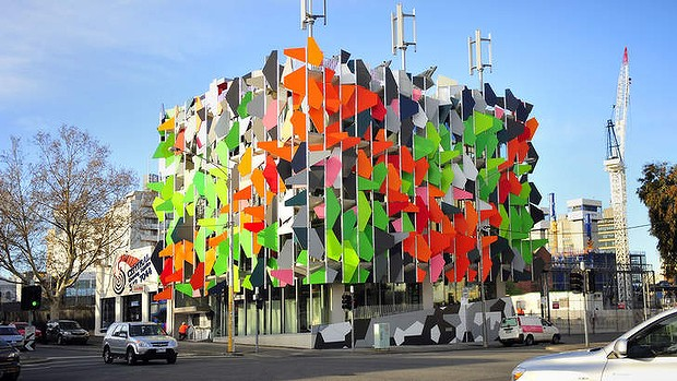 Grocon is selling it's new Pixel building, the first carbon neutral office building in Australia.