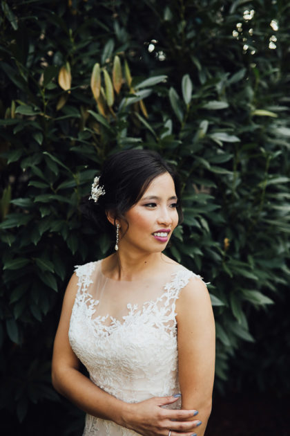Tram Nguyen And Jimmy Wheeler S Romantic Fall Wedding At Dresser Mansion