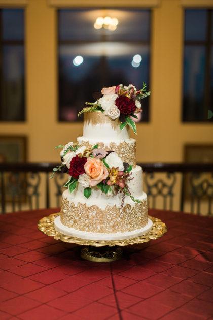 Separate Wedding Cakes