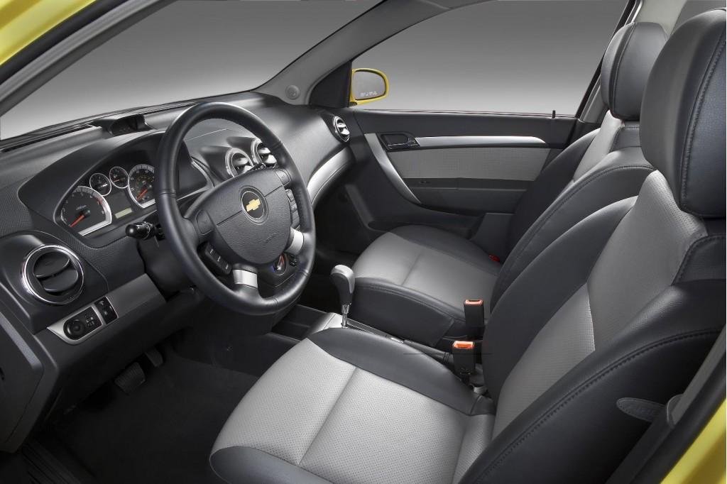 Image 2009 Chevrolet Aveo Interior Size 1024 X 682