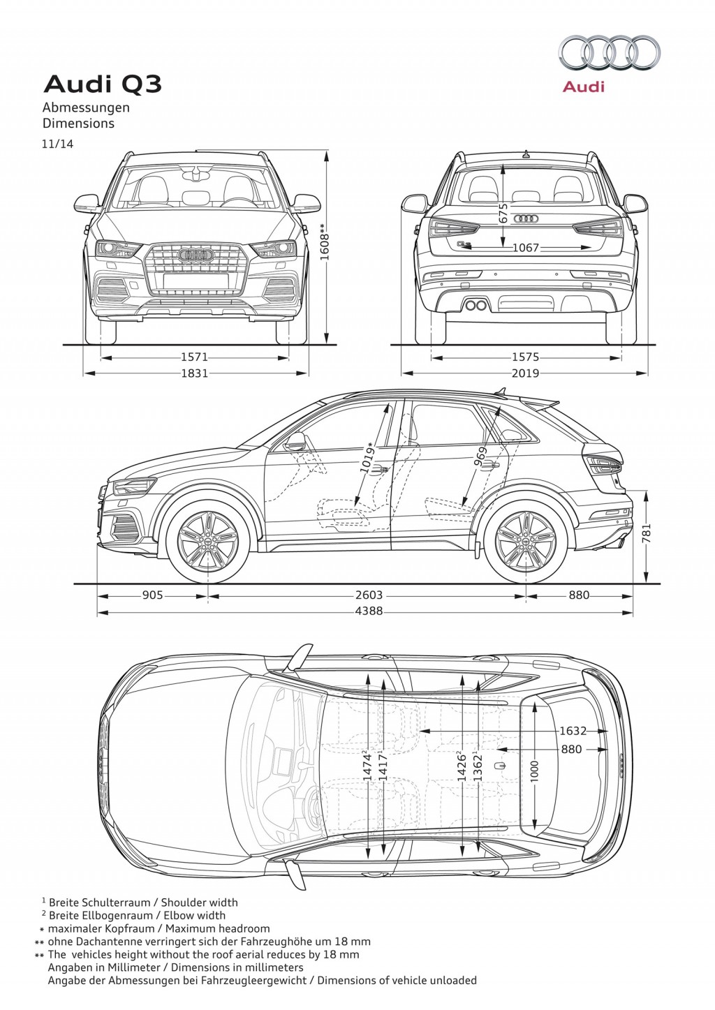 Facelifted Audi Q3 And Rs Q3 Revealed Video