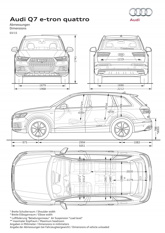 Audi Q7 E Tron Quattrosel Plug In Hybrid Live