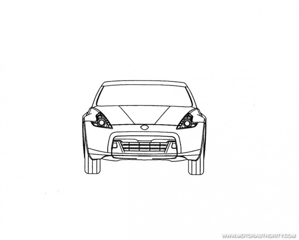 European Trademark Filing Reveals Nissan 370z Roadster Sketches
