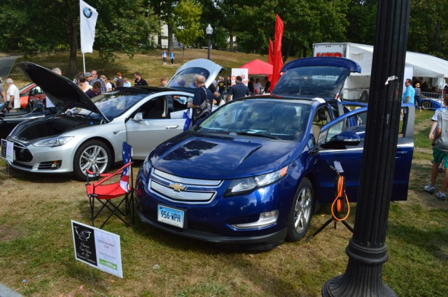 National Drive Electric Week 2014: Boston. Photo by John C. Briggs.
