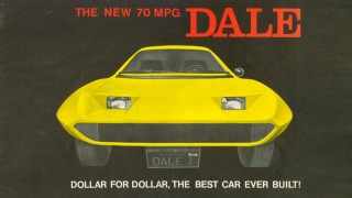 1975 Dale three-wheeled car