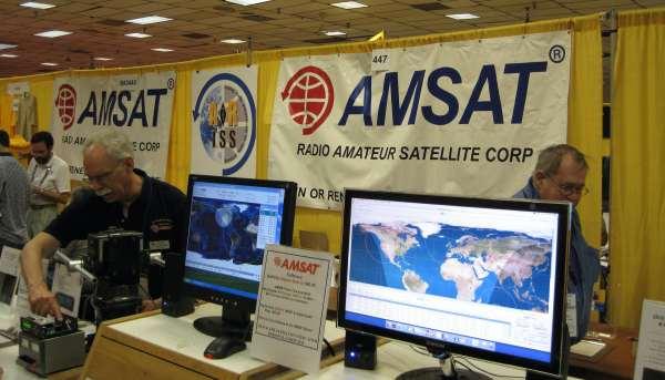 AMSAT amateur satellite corp