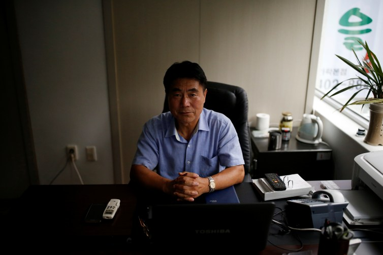 Choi Ju-hwal, a former North Korean senior army official who defected to the South Korea in 1995.