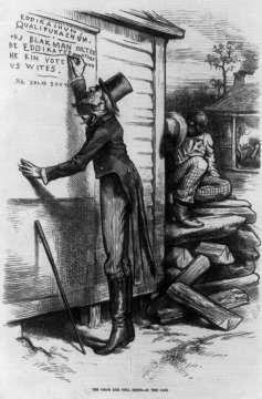 Black voter suppression
