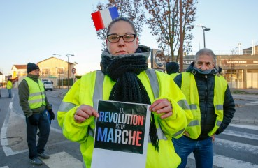 Image result for what is gilets jaunes in france