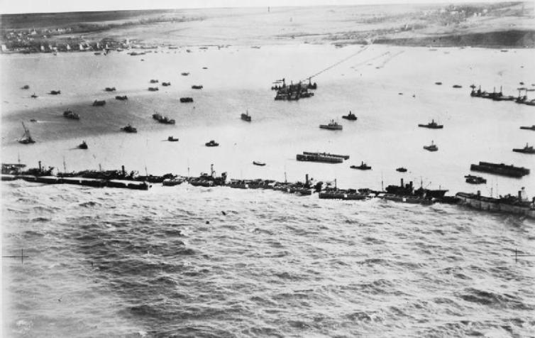 d-day artificial ports
