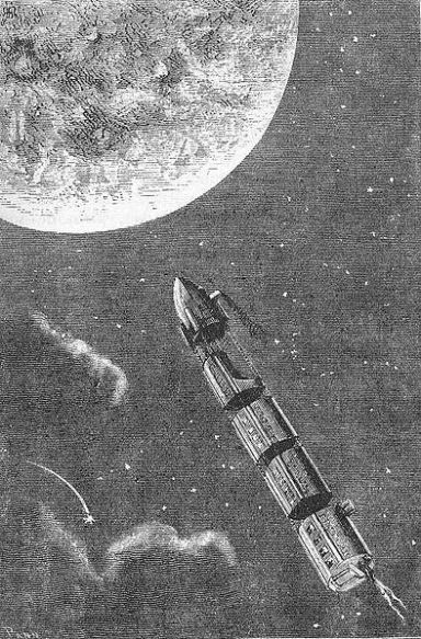 Long before astronauts reached the moon, artists were already there - drawing and writing about it
