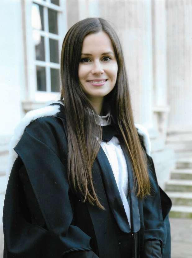 Portrait of Australian academic Kylie Moore-Gilbert.