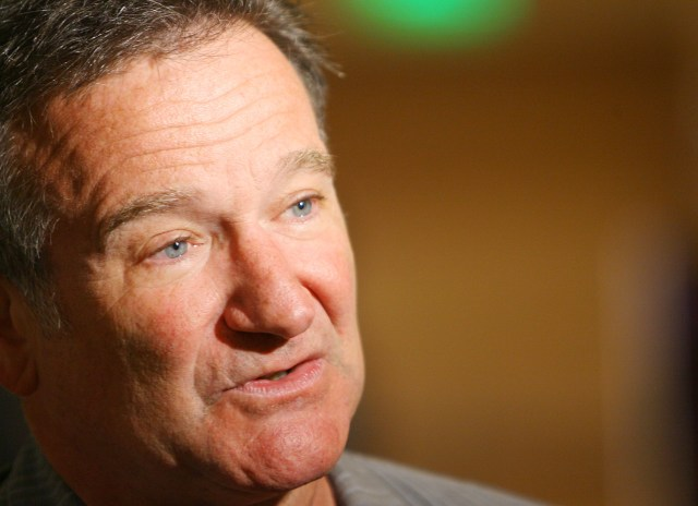 The actor and comic Robin Williams.