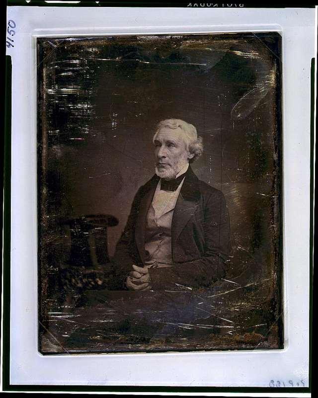 James Gordon Bennett, editor of penny paper the New York Herald.